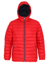 Picture of Padded Jacket van 2786 Red / Navy
