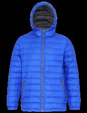 Picture of Padded Jacket van 2786 Royal / Grey