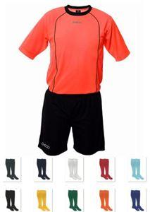 Afbeelding van Voetbalset Geco Orkan Shirt + Short + Kousen