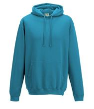 Picture of College Hoodie Turquoise Surf