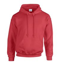 Picture of Heavy blend hooded sweatshirt Antique Cherry Red