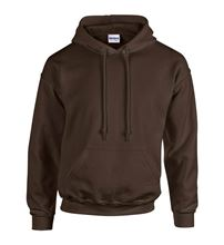 Picture of Heavy blend hooded sweatshirt Dark Chocolate