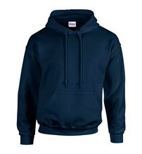 Picture of Heavy blend hooded sweatshirt Navy
