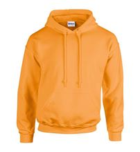 Picture of Heavy blend hooded sweatshirt Safety Orange