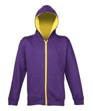 Picture of Varsity Zoodie voor kids Zoodie Purple / Sun Yellow