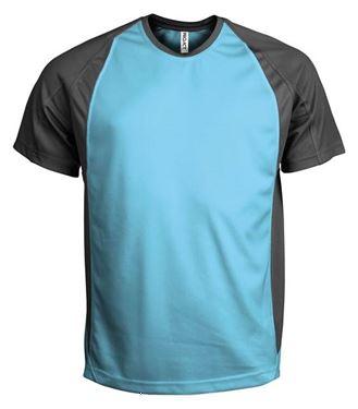 Picture of Tweekleurig sport T-Shirt