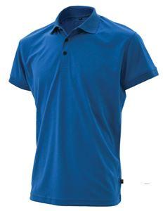 Afbeelding van SALE Miller Heren Poloshirt Azur Blauw XXL