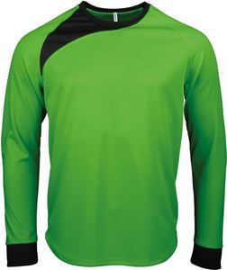 Afbeelding van Kinder Keepersshirt lange mouwen Proact Fluoriserend Groen