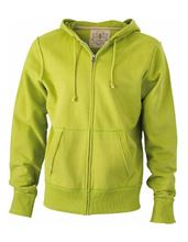 Picture of James & Nicholson Men´s Vintage Hoody Lime Green