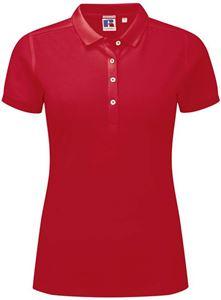 Afbeelding van Dames Stretch polo van Russel Classic Red
