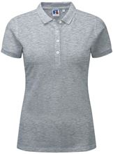 Picture of Dames Stretch polo van Russel Light Oxford