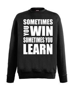 Afbeelding van Team sweater voor mannen met tekst