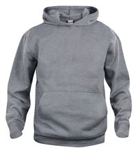 Picture of Clique Basic Hoody Grijs Melange