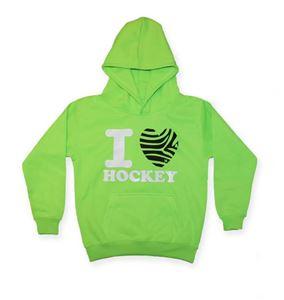 Afbeelding van I Love Hockey Sweater Groen