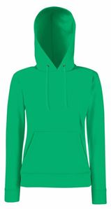 Afbeelding van Fruit of the Loom Classic Lady-fit Hooded Sweat Kelly Green