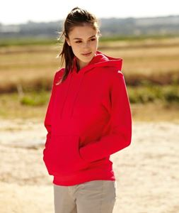 Afbeelding van Fruit of the Loom Classic Lady-fit Hooded Sweat