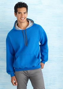 Afbeelding van Heavy blend adult contrasted hooded sweatshirt