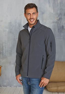 Picture of Heren Softshell Jas Kariban