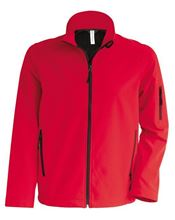 Picture of Heren Softshell Jas Kariban Red