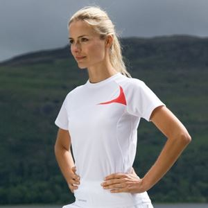 Afbeelding van Women's Spiro dash training shirt