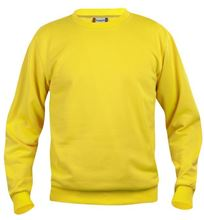 Picture of Clique Basic Roundneck Sweater Lemon