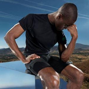 Afbeelding van TriDri Men's fitness t-shirt Zwart