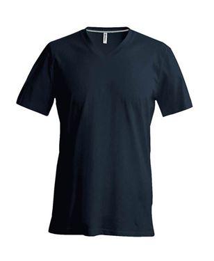 Picture of Heren T-Shirt V Hals Donkergrijs
