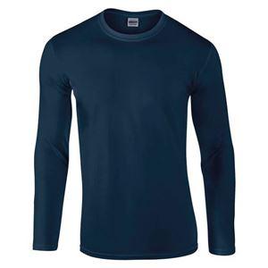 Afbeelding van Gildan Softstyle long sleeve t-shirt Navy