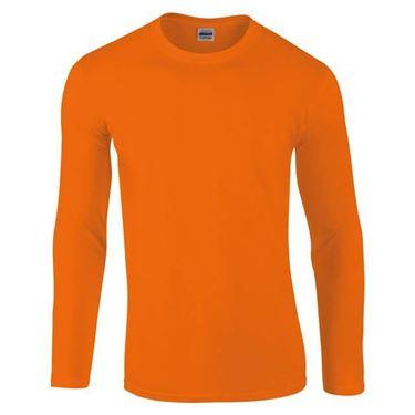 Picture of Gildan Softstyle long sleeve t-shirt Oranje