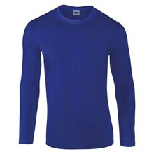 Picture of Gildan Softstyle long sleeve t-shirt Blauw