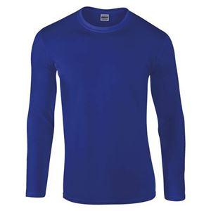 Afbeelding van Gildan Softstyle long sleeve t-shirt Blauw