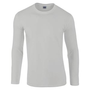 Afbeelding van Gildan Softstyle long sleeve t-shirt Sports Grey