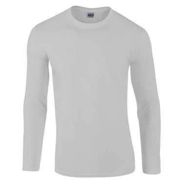 Picture of Gildan Softstyle long sleeve t-shirt Sports Grey