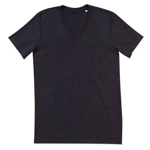 Afbeelding van James Organic V-Neck Black Opal
