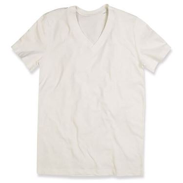 Picture of James Organic V-Neck Winter White