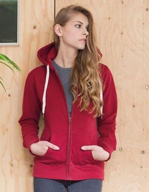 Picture of Mantis Womens Superstar Zip Through Hoodie