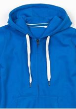 Picture of Mantis Womens Superstar Zip Through Hoodie Cobalt Blue