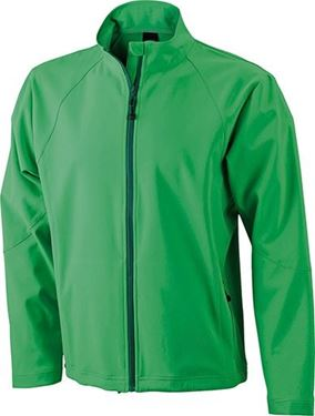 Picture of SALE Heren Softshell Jack J&N Groen M