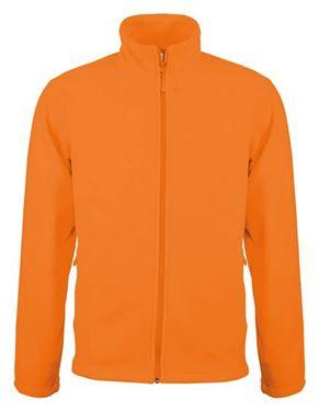 Picture of SALE Falco - Fleece met rits Kariban Orange maat M