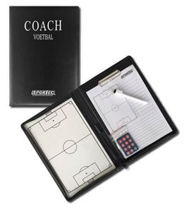 Afbeelding van Magnetisch coachbord in omslagmap Voetbal