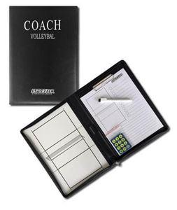 Afbeelding van Magnetisch coachbord in omslagmap Volleybal