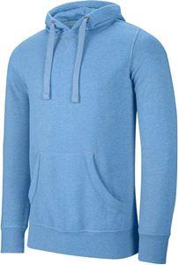 Afbeelding van Heren sweater met capuchon polykatoen Kariban Tropical Blue