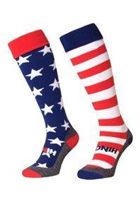 Afbeelding van Landen Thema Trainings Sokken USA Mix & Match