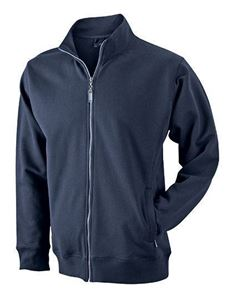 Afbeelding van James and Nicholson Men's Sweat Jacket