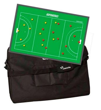 Picture of Sportec Magnetisch coachbord Hockey met Tas