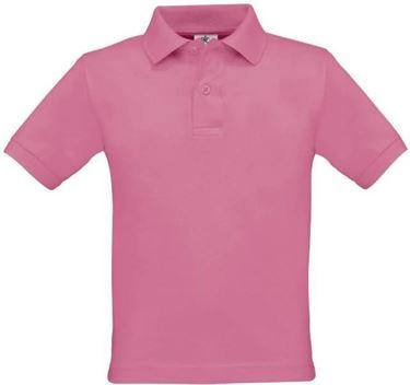 Roze kinder polo