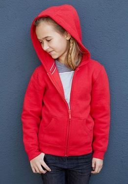 Kinder Hooded Sweater Met Rits Kariban