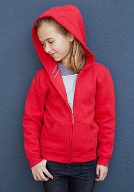 Kinder Hooded Sweater Met Rits Kariban