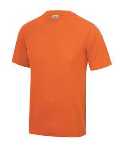 fluoriserend oranje kinder sport shirt