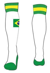 Afbeelding van Brazilië trainingssokken